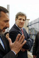 Kerry in Gaza