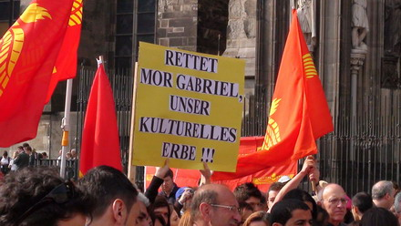 Mor Gabriel Demo in Köln