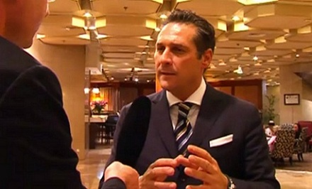 PI-Interview mit HC Strache in Jerusalem