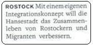 Rostock Integration
