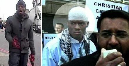Michael Abebolajo auf einer Kundgebung von Anjem Choudary ausfindig gemacht