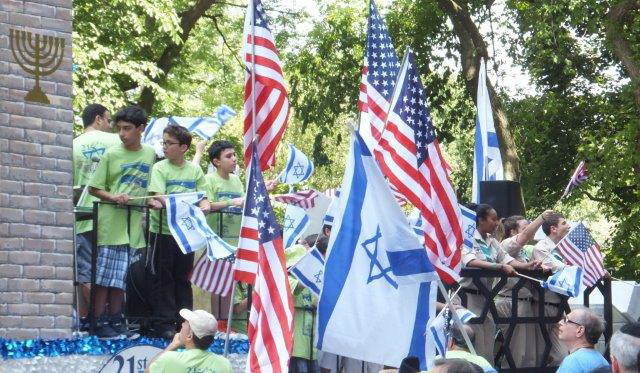 Celebrate Israel Parade 2013 in New York City