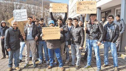 männliche asylbewerber