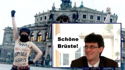 Dresden Femen Feiern Bomber Harris Pi News