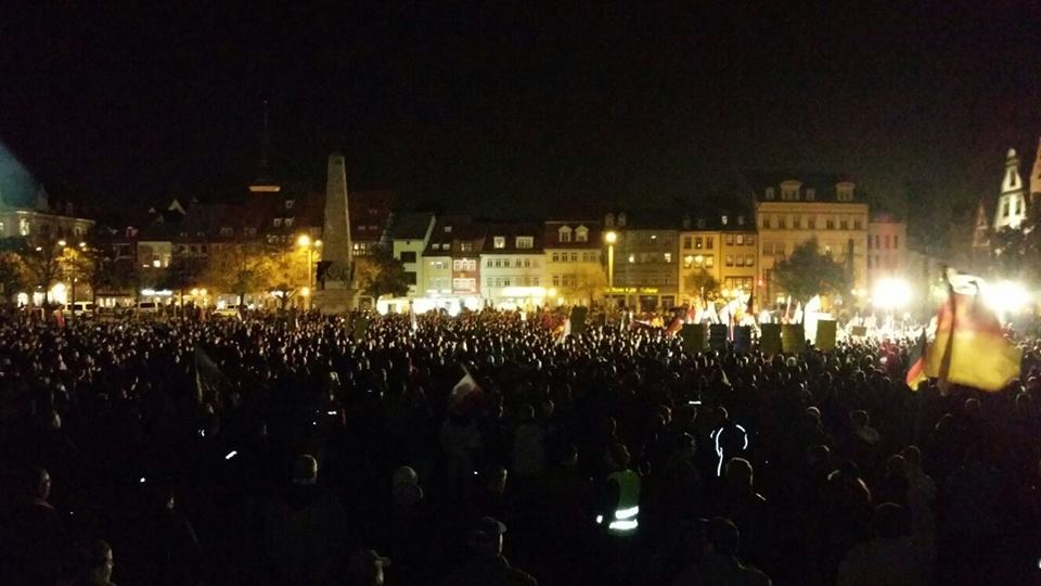 AfD Demo: Björn Höcke rockt wieder Erfurt! | PI NEWS