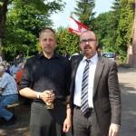Götz Kubitschek und Hans-Thomas Tillschneider