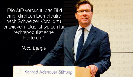 Konrad Adenauer Stiftung Wirft Afd Demokratie Wunsch Nach