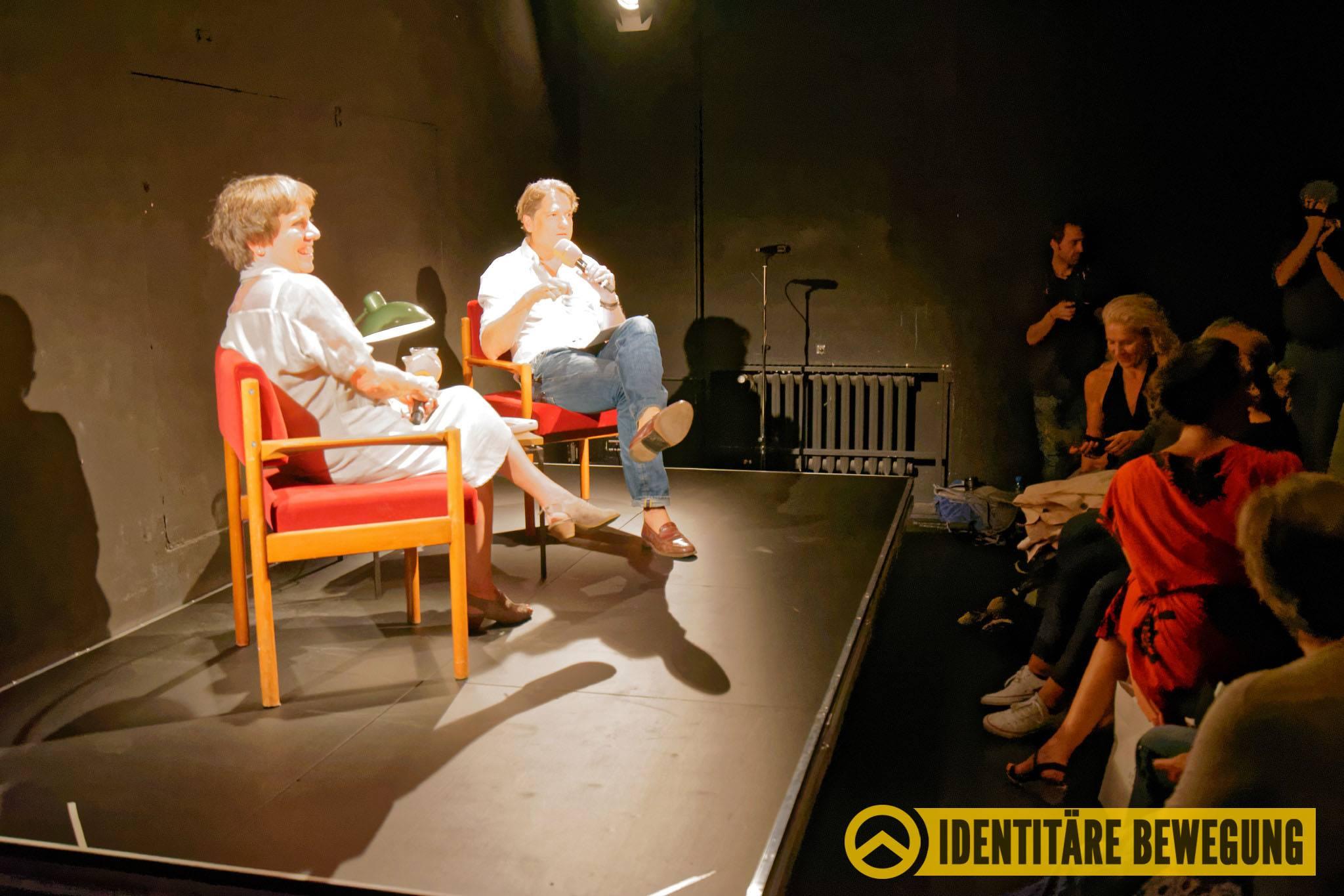 """Identitäre Bewegung """"sthetische Intervention Gegen Jakob Augstein"""