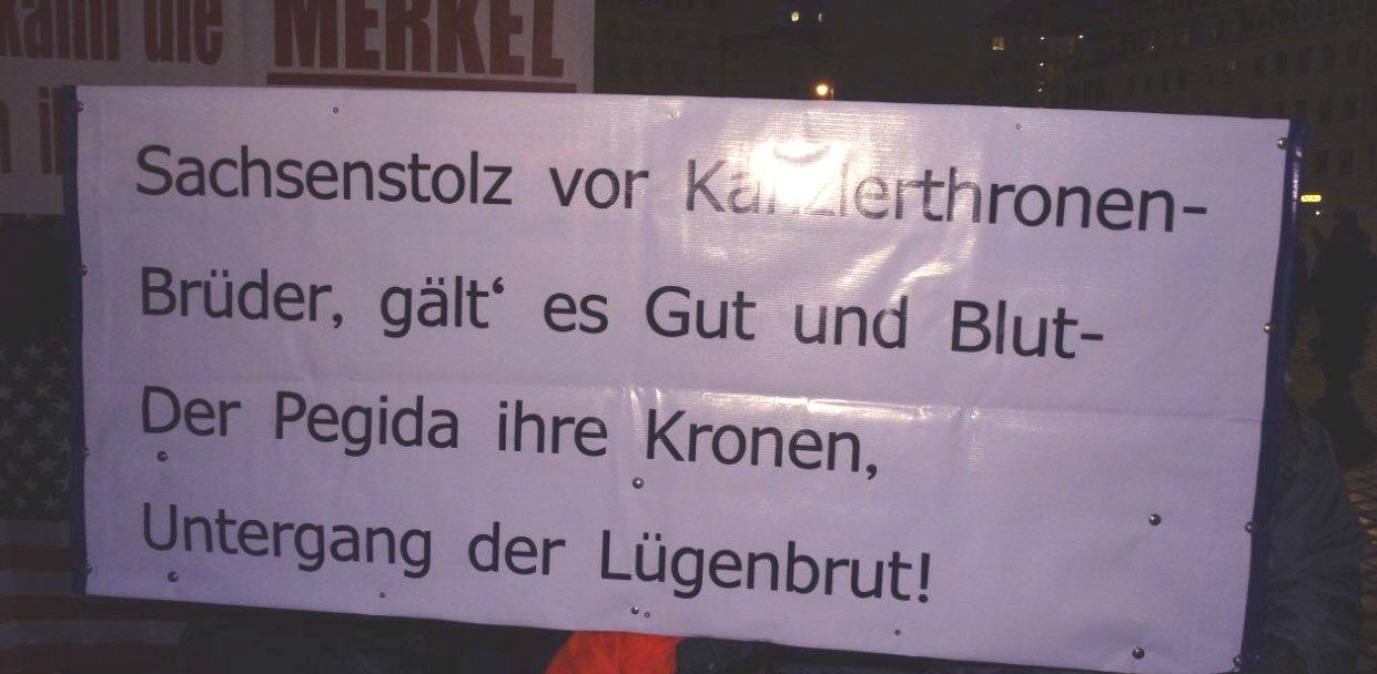 Pegida Dresden: Solidarität mit Björn Höcke | PI-NEWS