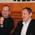 Guter Stimmung: Pro Köln-Chef Michael Gabel (l.) mit Akif Pirincci.