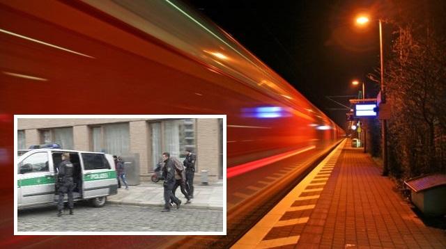 polizist vor bahn geschubst