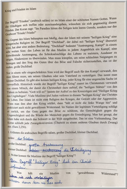 Hamburger Schule verharmlost Dschihad | PI-NEWS