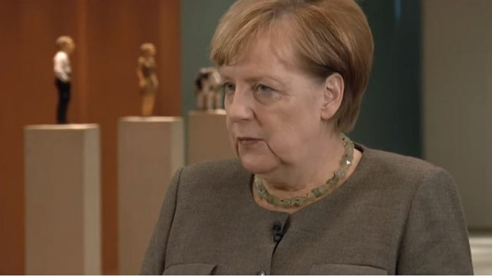 Angela Merkel (Screenshot aus dem