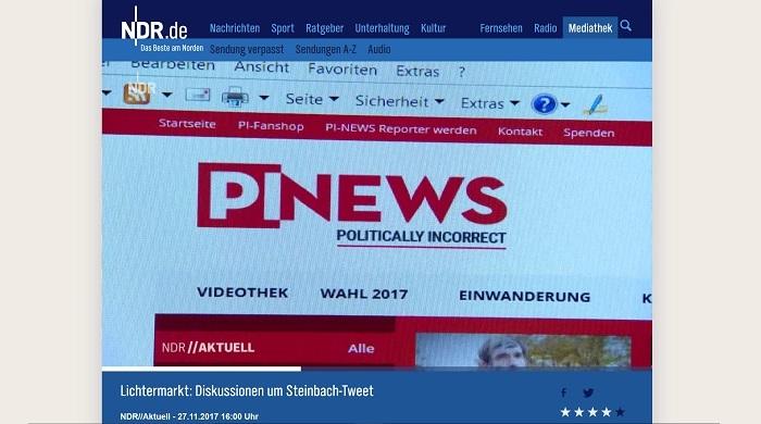 NDR giftet gegen PI-NEWS | PI-NEWS