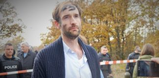 """Höcke über Philipp Ruch (Foto): """"Wer so etwas tut, der ist kein Künstler. Wer so etwas tut, ist noch nicht mal ein Krimineller. Wer so etwas tut, der ist ein Terrorist."""""""