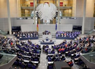 Deutscher Bundestag (Symbolbild).