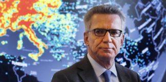 Thomas De Maizière will Deutschland in eine orwellsche Überwachungshölle verwandeln.