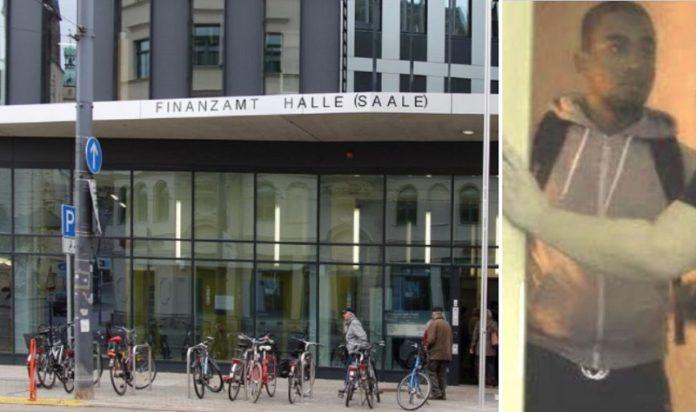 Wenn das Finanzamt zweimal klingelt ... (mit dem Foto links fahndet die Polizei nach einem der Täter).