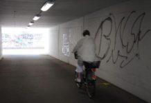 Richtersdorftunnel (der Angst) in Hannover-Lehrte.