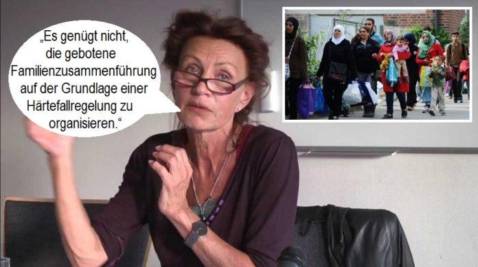 Ulla Jelpke (DIE LINKE) will Familiennachzug für alle.