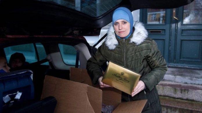 Für Konvertitin Marianne Khan ist das Kuffar-Fest Weihnachten haram (verboten), die Annahme der Weihnachtshilfe nicht.