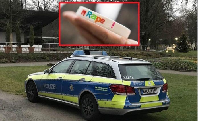 Polizei im Bad Krozingener Kuhrpark nach einem Sexualdelikt. Mehr