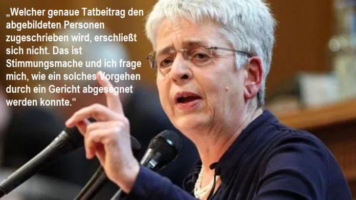 Christiane Schneider (DIE LINKE) hält polizeiliche Öffentlichkeitsfahndung nach linken Gewalttätern für
