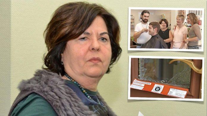 Ilona Fugmann, Friseurmeisterin aus Herzberg versteht bis heute nicht, warum ihr Herzstück sie niederstach. Kevin Freiwald vom Jobcenter (kleines Foto) hat den
