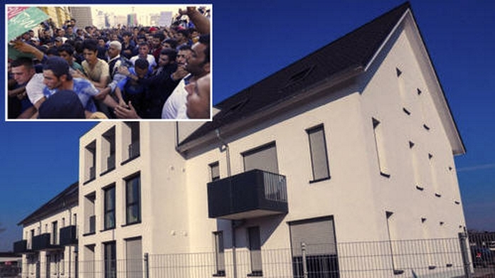 Bielefeld 13 Neue Hauser Fur Fluchtlinge Fertiggestellt Pi News