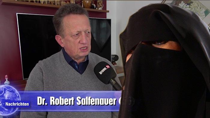 syrien frauen legen niqab ab