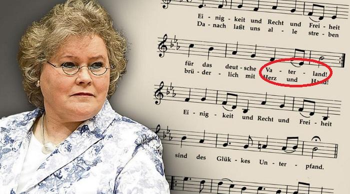 Frauenbeauftragte Nationalhymne