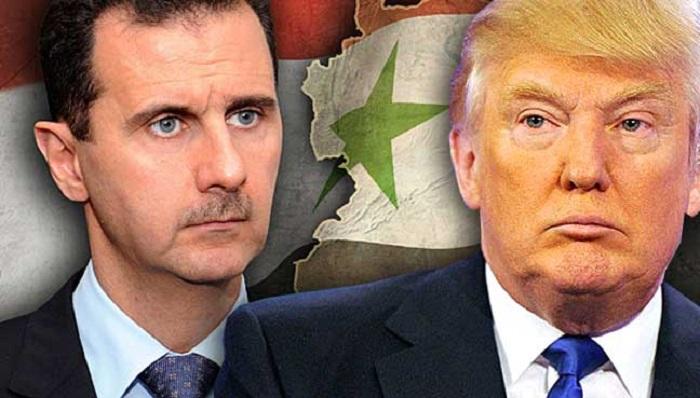 """Trump fällt auf Fake News rein und nennt Syriens Assad ein """"Tier ..."""