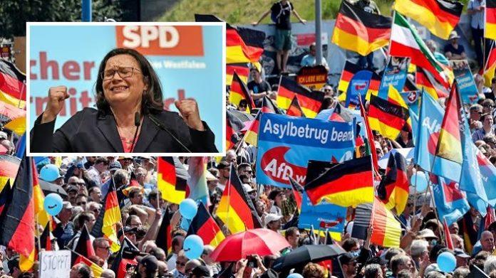 Andrea Nahles: natürlich kriegt sie die SPD kaputt. Deutschland nicht…