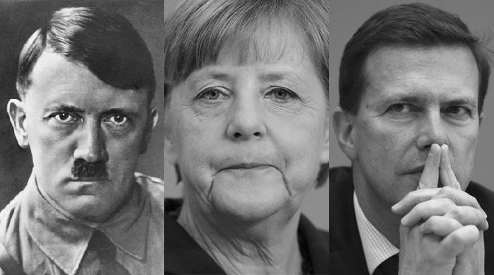 Hitler Und Merkel