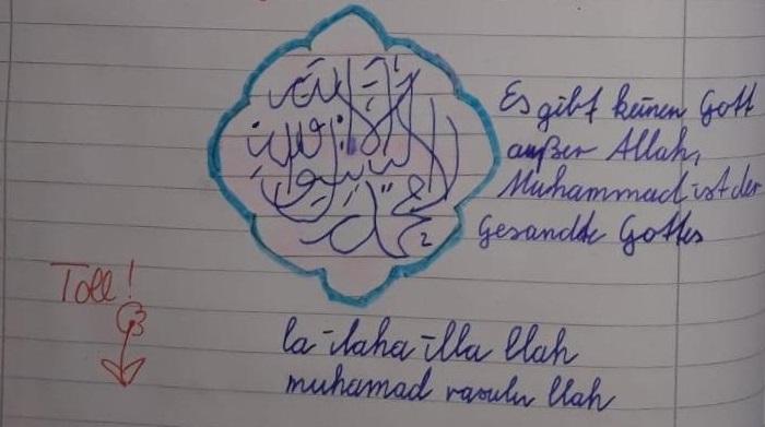 Islamische Gehirnwäsche an niederbayerischer Grundschule?