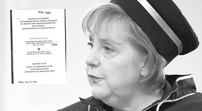 """Dr. Merkels Doktorarbeit """"Bullshit"""""""