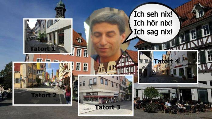 Schorndorfs OB Matthias Klopfer scheint die massive Zunahme der Gewalt in seiner Stadt nicht zu tangieren.