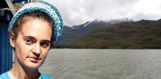 Carola Rackete in Patagonien.