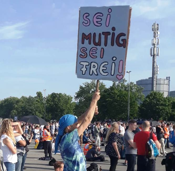 Demo Stuttgart 9.5 2021