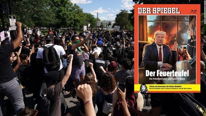 Hetz-Cover vom neuen SPIEGEL STÜRMER.