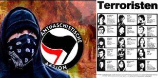 Der militanten Antifa fehlen im Vergleich zur RAF nur die prominenten Gesichter. Sie pflegt aus Feigheit die Praxis, ihre Gesichter zu vermummen und ihre Namen geheim zu halten.