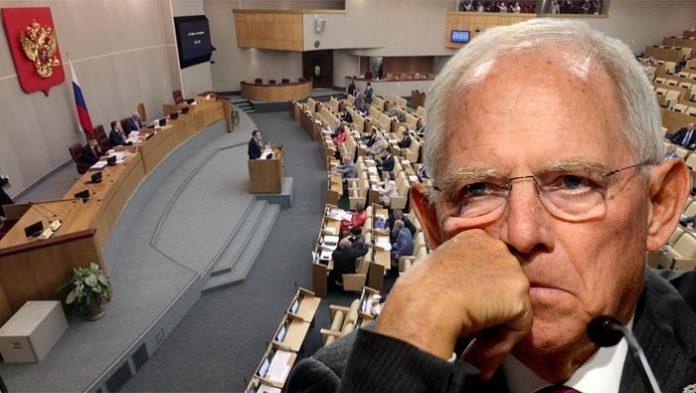 Bundestagspräsident Wolfgang Schäuble ignorierte ein Schreiben von russischen Duma-Abgeordneten zum Fall Nawalny.