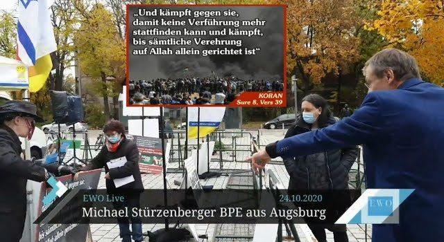"""Ein Satz zum Politischen Islam sei """"undifferenziert"""" gegenüber Moslems Augsburg: Kripo setzt Staatsanwaltschaft zur Prüfung von """"Volksverhetzung"""" an"""