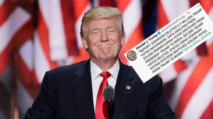 Ist sich sicher, US-Präsident zu bleiben - Donald Trump.
