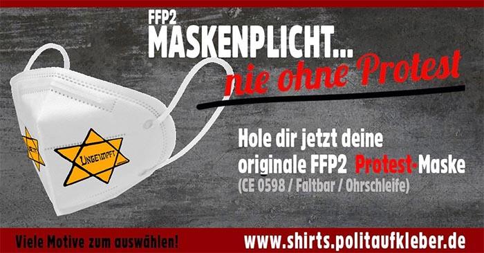 FFP2-Maskenpflicht - nie ohne Protest!