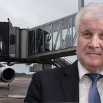 Corona hin - Corona her: Innenminister Horst Seehofer (CSU) hilft aktiv mit Flugzeugen nach, um einem drohenden Leerstand in den Asylbewerberheimen vorzubeugen (Foto: Landung von Asylbewerbern am Flughafen Hannover).