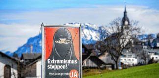Aus für Nikab und Burka - die Schweizer haben am Sonntag mehrheitlich für ein Verhüllungsverbot gestimmt.