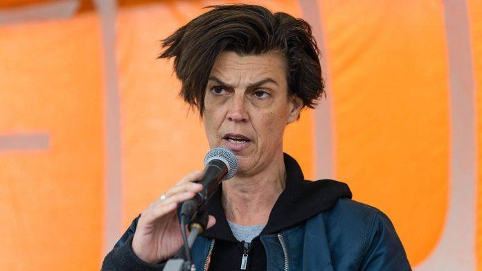 Carolin Emcke auf dem Grünen-Parteitag: