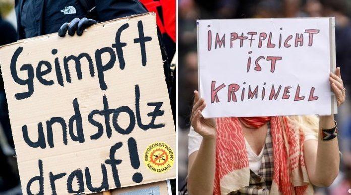 Impfbefürworter vs. Impfkritiker - Deutschland ist derzeit gespalten wie nie zuvor.