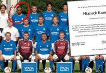 Hiannick Kamba, sein Team und sein Nachruf.